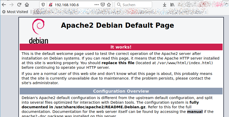 Apache2 works on my Raspberry Pi