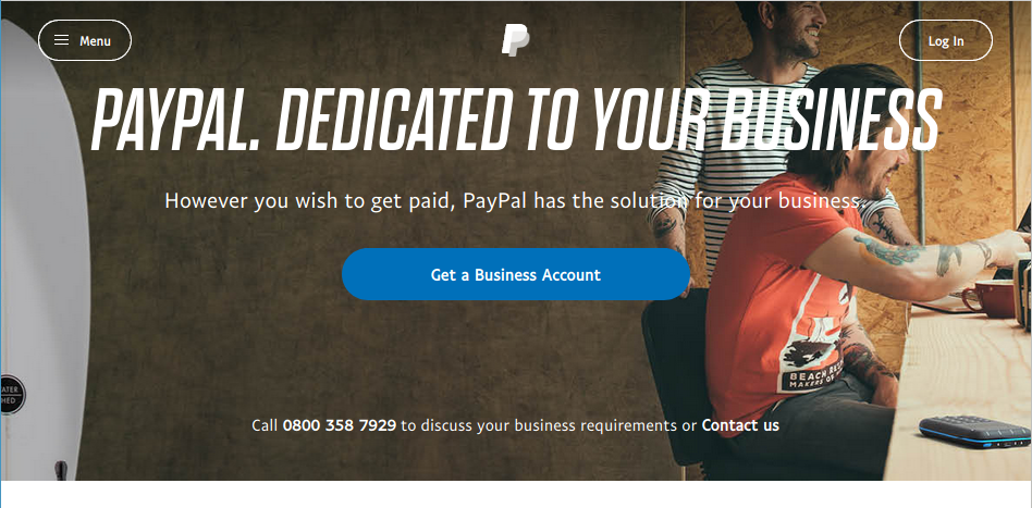 PayPal in Egypt works really good – but only with a VPN