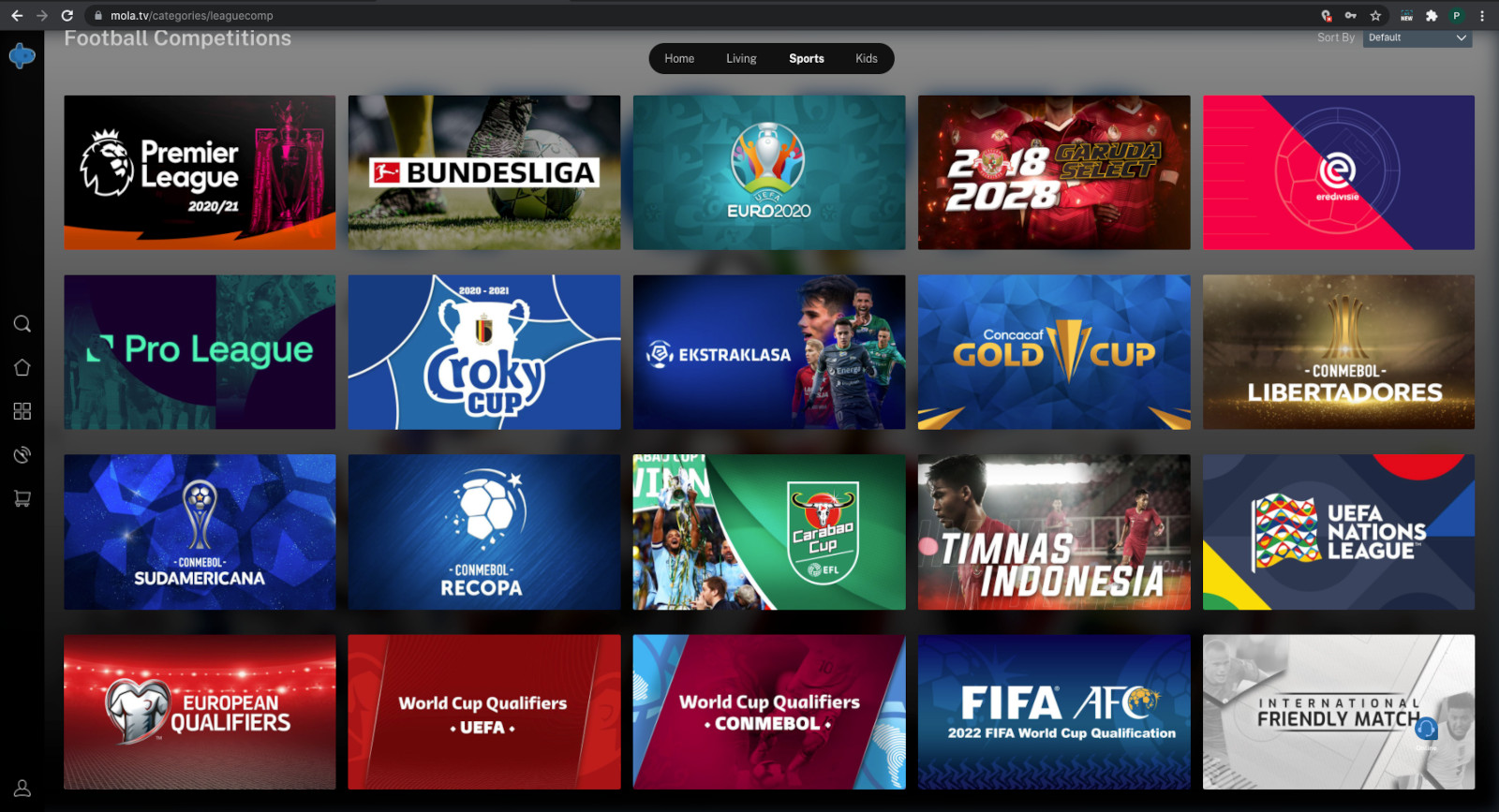 Watch Premier League, Bundesliga and a lot more interesting sports events